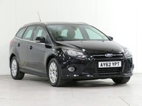 USED 2012 62 FORD FOCUS 2.0 TITANIUM TDCI 5d 139 BHP FULL FORD SERVICE HISTORY
