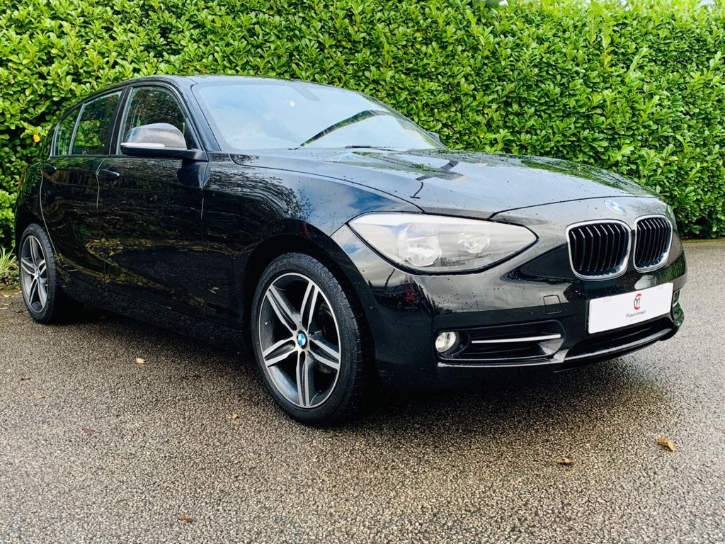 USED 2015 15 BMW 1 SERIES 1.6 116I SPORT 5d 135 BHP ULEZ COMPLIANT BMW 1 SERIES 1.6 116I SPORT 5d 135 BHP WITH SAT NAV