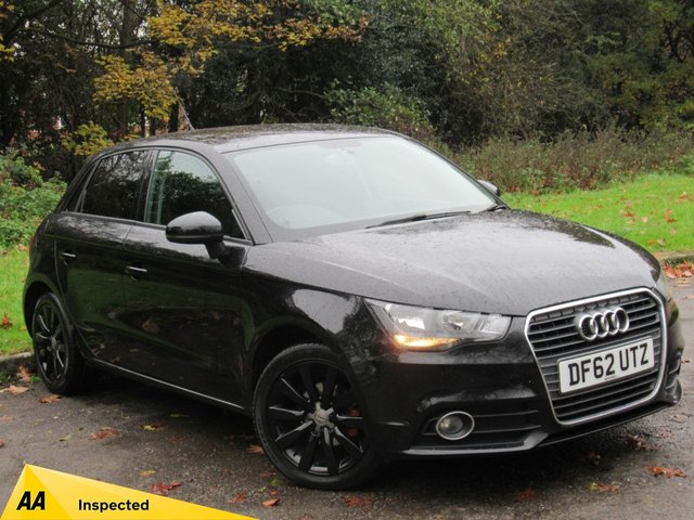 USED 2013 62 AUDI A1 1.2 SPORTBACK TFSI SPORT 5d 86 BHP JUST BEEN SERVICED, MOT NOV 2020