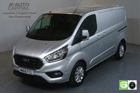 USED 2018 68 FORD TRANSIT CUSTOM 2.0 300 LIMITED L1 H1 129 BHP EURO 6 ENGINE AIR CON, FRONT- REAR PARKING SENSORS, ALLOY WHEEL, HEATED SEATS