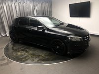 USED 2013 63 MERCEDES-BENZ A CLASS 1.5 A180 CDI BLUEEFFICIENCY AMG SPORT 5d 109 BHP FREE UK DELIVERY, AUTOMATIC HEADLIGHTS, BLUETOOTH TELEPHONE CONNECTIVITY, CLIMATE CONTROL, COLLISION PREVENTION ASSIST, CRUISE CONTROL, ELECTRONIC PARKING BRAKE, START/STOP SYSTEM, STEERING WHEEL CONTROLS, TRIP COMPUTER