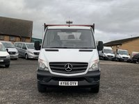USED 2016 66 MERCEDES-BENZ SPRINTER 2.1 316 CDI 163 BHP LWB 14FT DROPSIDE CHASSIS FACELIFT EURO 6, 14FT DROPSIDE, GTW 7000KG, 163 BHP, ONE OWNER, FDSH