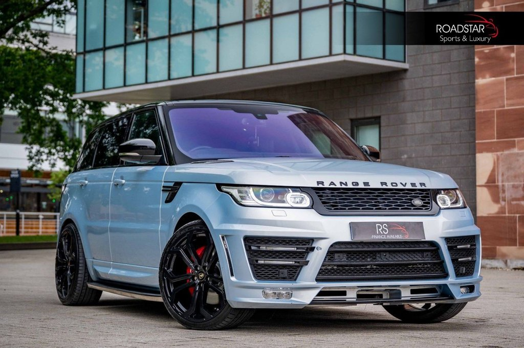 USED 2015 65 LAND ROVER RANGE ROVER SPORT 3.0 SD V6 Autobiography Dynamic 4X4 (s/s) 5dr NAV+CAMERA+PAN ROOF+TV