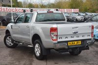 USED 2014 64 FORD RANGER 2.2 TDCi Limited Double Cab Pickup 4x4 4dr (EU5) SAT NAV*ROLL COVER*TOW BAR