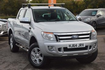 2014 FORD RANGER 2.2 TDCi Limited Double Cab Pickup 4x4 4dr (EU5) £11990.00