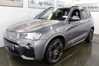 USED 2015 65 BMW X3 3.0 30d M Sport Sport Auto xDrive 5dr PRO MEDIA PACK! 1 PRV. OWNER!