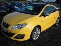 USED 2010 10 SEAT IBIZA 1.4 FR TSI DSG 3d AUTO 150 BHP 1 Previous owner - Low mileage