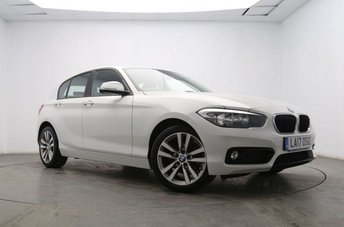 2017 BMW 1 SERIES 1.5 116D SPORT 5d 114 BHP £13145.00