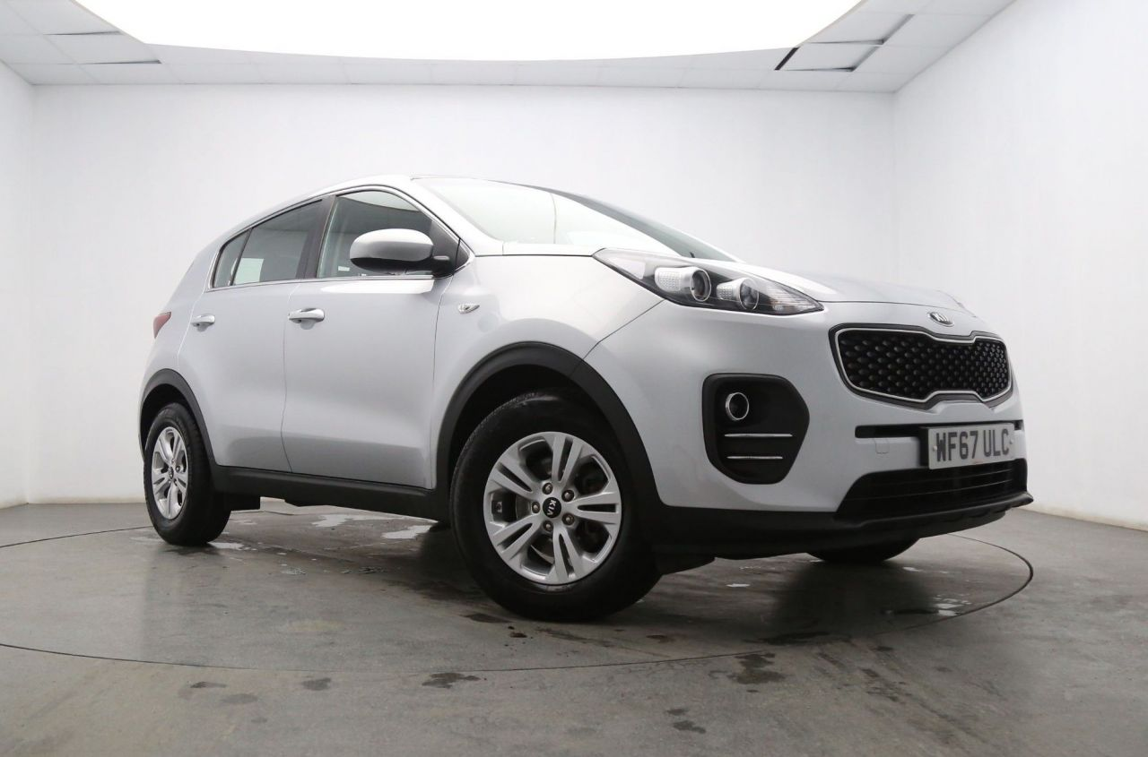 USED 2017 67 KIA SPORTAGE 1.7 CRDI 1 ISG 5d 114 BHP Bluetooth- Start Stop Systems
