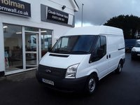 2013 FORD TRANSIT 2.2 280 100BHP H2 L1 MEDIUM ROOF SWB £7995.00