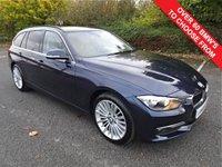 2014 BMW 3 SERIES 2.0 320D LUXURY TOURING 5d 181 BHP £10990.00