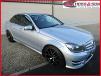 USED 2012 MERCEDES-BENZ C CLASS 2.1 C220 CDI BLUEEFFICIENCY AMG SPORT 4dr AUTO 168 BHP **LOCAL LADY OWNER VEHICLE**