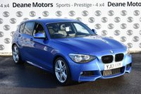 USED 2013 13 BMW 1 SERIES 2.0 125D M SPORT 5d 215 BHP PRO NAV LEATHER