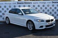 USED 2011 11 BMW 5 SERIES 2.0 520D M SPORT 4d AUTO 181 BHP MASSIVE SPEC
