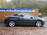 USED 2014 63 PEUGEOT 308 1.6 CC ACTIVE NAVIGATION VERSION 2d 120 BHP FSH,BLUETOOTH, SAT NAV