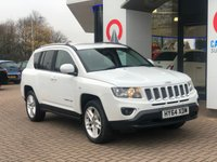 USED 2014 64 JEEP COMPASS 2.4 LIMITED 5d AUTO 168 BHP LEATHER | 18 ALLOYS WHEELS |