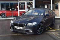 USED 2016 16 BMW 5 SERIES 2.0 520D M SPORT 4d AUTO 188 BHP FINANCE TODAY WITH NO DEPOSIT
