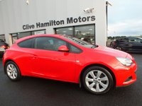 USED 2015 06 VAUXHALL ASTRA 2.0 GTC SPORT CDTI S/S 3d 162 BHP PRIVACY GLASS