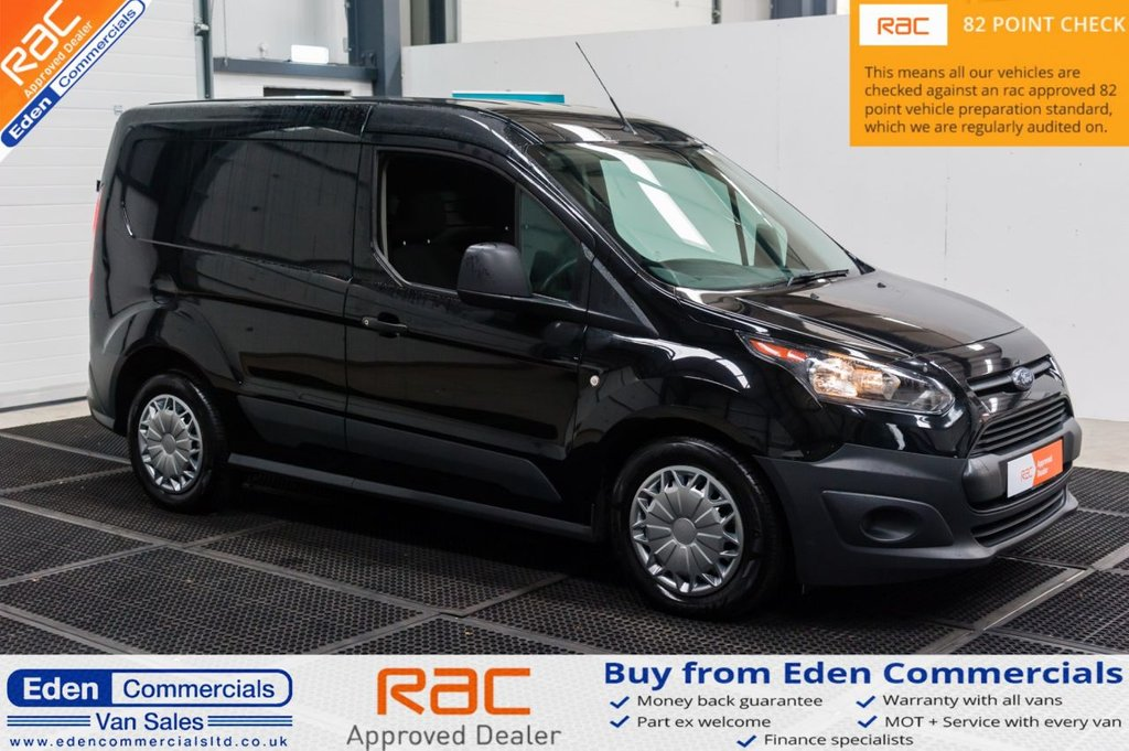 USED 2017 17 FORD TRANSIT CONNECT 1.5 200 P/V 74 BHP * FINSHED IN BLACK + AIR CON *