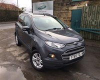 USED 2015 65 FORD ECOSPORT 1.0 ZETEC 5d 124 BHP One Former Owner ONLY 23,000 Miles !!