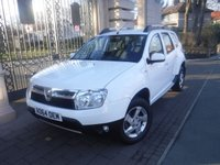 USED 2014 64 DACIA DUSTER 1.5 LAUREATE DCI 5d 107 BHP *FINANCE ARRANGED*PART EXCHANGE WELCOME*SATNAV*REAR PS*CRUISE*AIRCON*SERVICE HISTORY*ECO MODE*BTOOTH