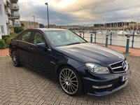 USED 2013 13 MERCEDES-BENZ C-CLASS 6.2 C63 AMG 4d 457 BHP FULL MERCEDES SERVICE HISTORY! BIG SPECIFICATION!