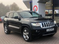 USED 2012 62 JEEP GRAND CHEROKEE 3.0 V6 CRD OVERLAND 5d AUTO 237 BHP SAT NAV | PAN ROOF | LEATHER |