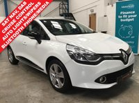 "USED 2015 65 RENAULT CLIO 1.2 DYNAMIQUE NAV 16V 5d 73 BHP Full Service History, Satellite Navigation, Bluetooth Phone and Media Streaming, DAB Radio, Auto Lights and Wipers, Keyless Start and Entry, Cruise Control with Speed Limiter, Air Conditioning, Remote Locking - 2 Keys, 16"" Alloys"
