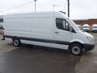 2013 MERCEDES-BENZ SPRINTER 313 CDI LWB HI ROOF, 130 BHP [EURO 5] SOLD