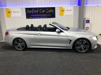 USED 2016 16 BMW 4 SERIES 2.0 420D M SPORT 2d AUTO 188 BHP CABRIOLET