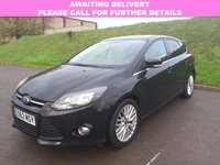 USED 2012 62 FORD FOCUS 1.0 ZETEC Ecoboost 5d 99 BHP BLUETOOTH | DAB | ALLOYS | AC