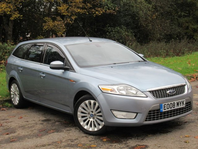 USED 2008 08 FORD MONDEO 1.8 TITANIUM TDCI 5d 124 BHP FULL SERVICE HISTORY, NEW CLUTCH AND FLYWHEEL