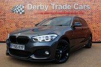 2015 BMW 1 SERIES 2.0 120D XDRIVE M SPORT 5d AUTO 188 BHP £14490.00