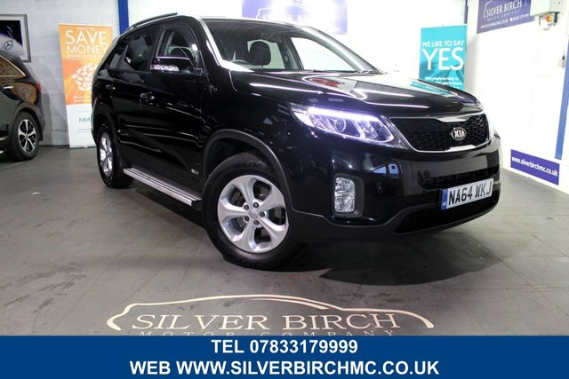 USED 2014 64 KIA SORENTO 2.2 CRDI KX-2 SAT NAV 5d 194 BHP Low Deposit Finance Available