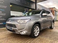 USED 2014 64 MITSUBISHI OUTLANDER 0.0 PHEV GX 4H 5d AUTO 162 BHP NAV,SUNROOF,HEATED LEATHER,REAR CAMERA