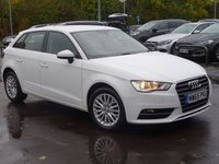 USED 2015 65 AUDI A3 1.6 TDI SE TECHNIK 5d 109 BHP £20 RD TAX AUTO WITH PADDLE SHIFT LOW MILEAGE FSH