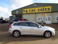 USED 2016 66 VOLVO V60 2.0 D2 BUSINESS EDITION 5d AUTO 118 BHP