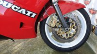 USED 1992 J DUCATI 851 Sports Classic First of the replica WSB bikes raced in the 90s