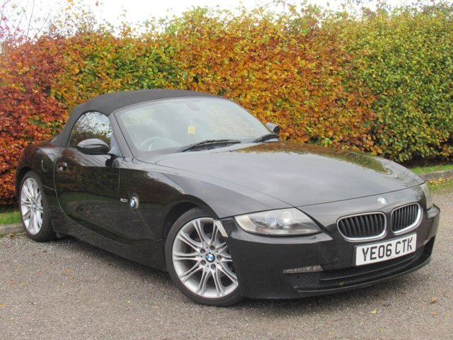USED 2006 06 BMW Z4 2.0 Z4 SPORT ROADSTER 2d * SPORT CONVERTIBLE * FULL HEATED LEATHER INTERIOR *
