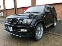 2001 TOYOTA LANDCRUISER AMAZON CYGNUS AUTO VVTI 4.5 8 SEATS £9900.00