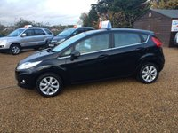 USED 2009 59 FORD FIESTA 1.4 ZETEC 16V 5d 96 BHP FULL SERVICE HISTORY - FINANCE AVAILABLE