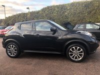 2017 NISSAN JUKE 1.2 DIG-T TEKNA 5d WITH LEATHER AND SAT NAV  £9000.00