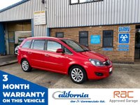 USED 2013 63 VAUXHALL ZAFIRA 1.7 DESIGN NAV CDTI ECOFLEX 5d 108 BHP 1 PREVIOUS OWNER WITH FULL HISTOR CHEAP RELIABLE 7 SEATER