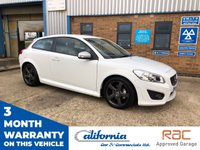 USED 2011 60 VOLVO C30 1.6 D2 R-DESIGN 3d 115 BHP R DESIGN, FINANCE TODAY, 2 KEYS, LOADS OF HISTORY.