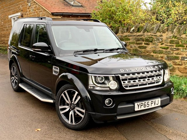 2015 65 LAND ROVER DISCOVERY 3.0 SDV6 HSE LUXURY 5d AUTO 255 BHP