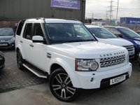 USED 2012 12 LAND ROVER DISCOVERY 3.0 4 SDV6 HSE 5d AUTO 255 BHP ANY PART EXCHANGE WELCOME, COUNTRY WIDE DELIVERY ARRANGED, HUGE SPEC