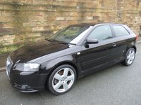 2006 AUDI A3 2.0 T FSI S LINE Special Edition Quattro 3d 200 BHP £3200.00