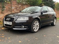USED 2013 62 AUDI A3 1.6 TDI SPORT 5d 103 BHP 3 OWNERS, EXCELLENT SERVICE HISTORY, MOT DEC 2020,  EXCELLENT CONDITION,  ALLOYS, CLIMATE, BLUETOOTH, REAR SENSORS, RADIO CD, E/WINDOWS, R/LOCKING, FREE WARRANTY, FINANCE AVAILABLE, HPI CLEAR, PART EXCHANGE WELCOME,
