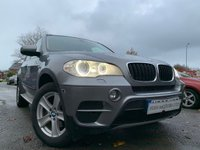 "USED 2012 62 BMW X5 3.0 XDRIVE30D SE 5d AUTO 241 BHP 2KEYS+PAN ROOF+LEATHER+PARK+NAV+18"" ALLOY+CLIMATE+PRIVGLASS+CD+"