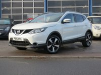 USED 2015 15 NISSAN QASHQAI 1.5 DCI N-TEC PLUS 5d 108 BHP MASSIVE SPEC ECONOMICAL SUV